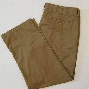 Men's Dark Khaki Pants 38w X 32L